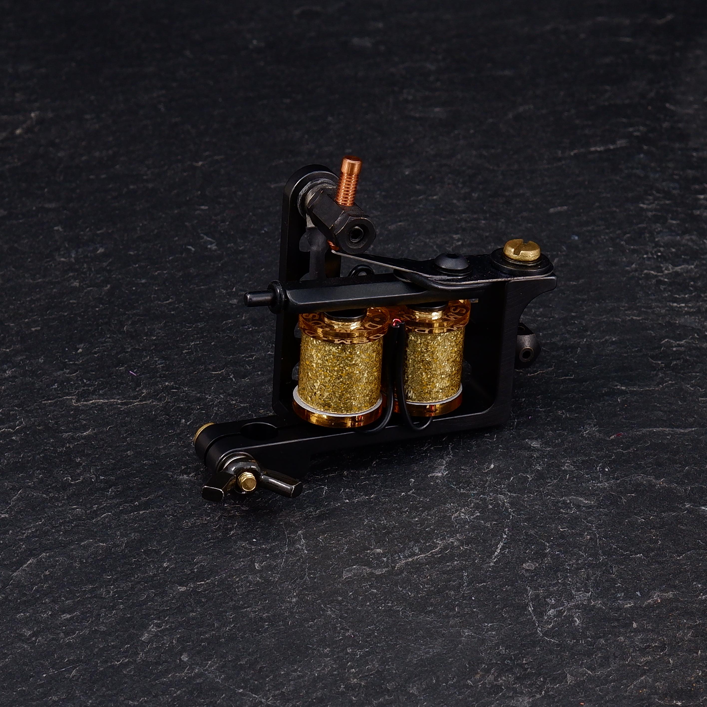 One-Off DanSelfMade Drilled Bulldog Power Liner Tattoo machine