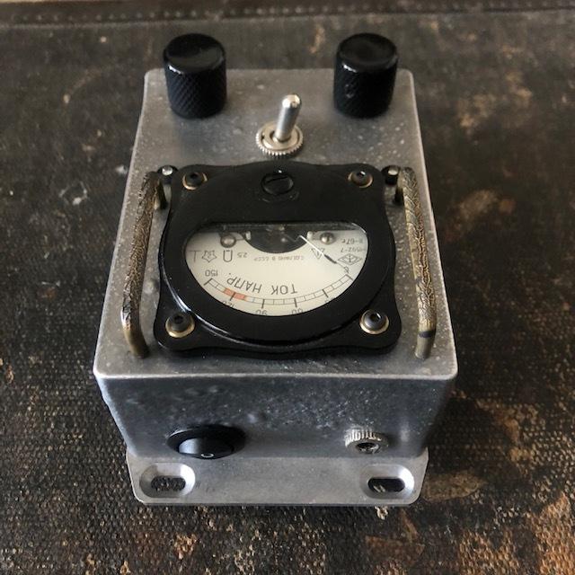 Vintage Russian Voltmeter PowerSupply