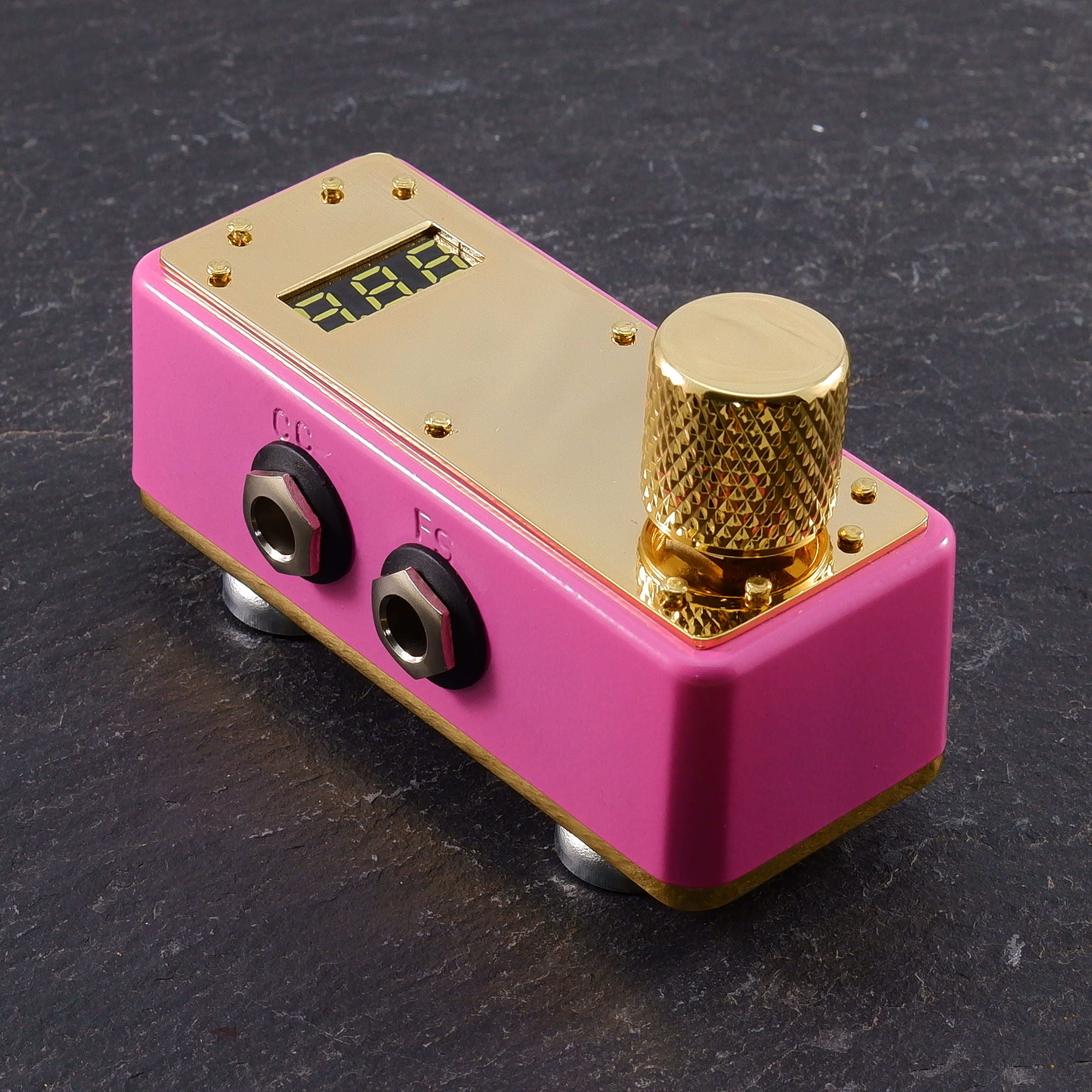 Pink + Gold Plate