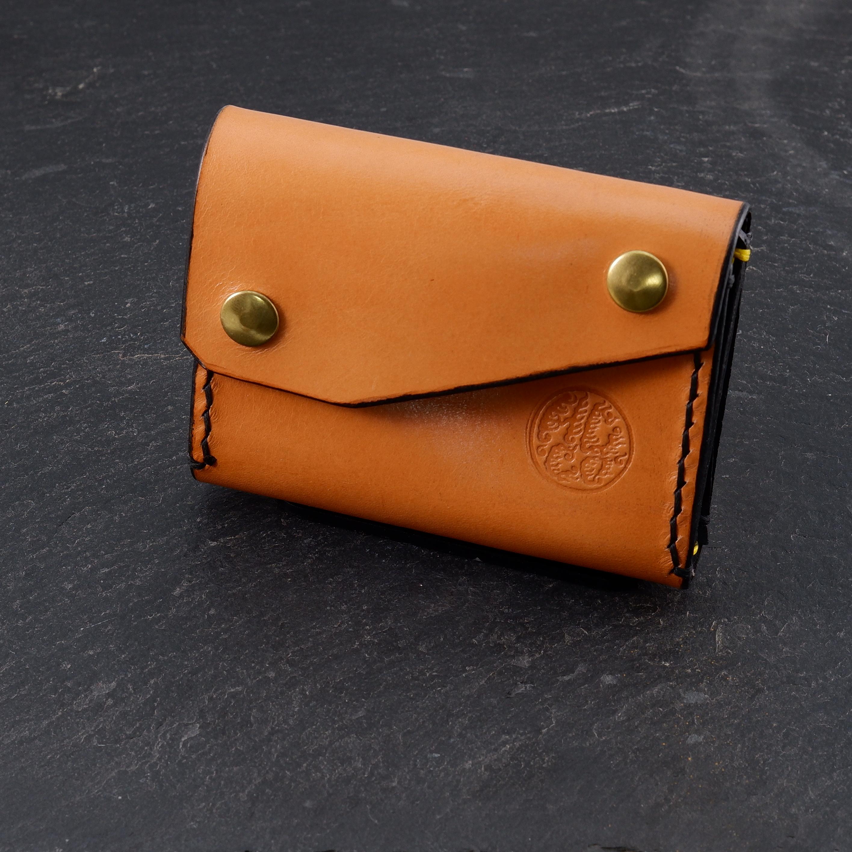 Leather wallet HCCO Logo by GuyLeTattooer