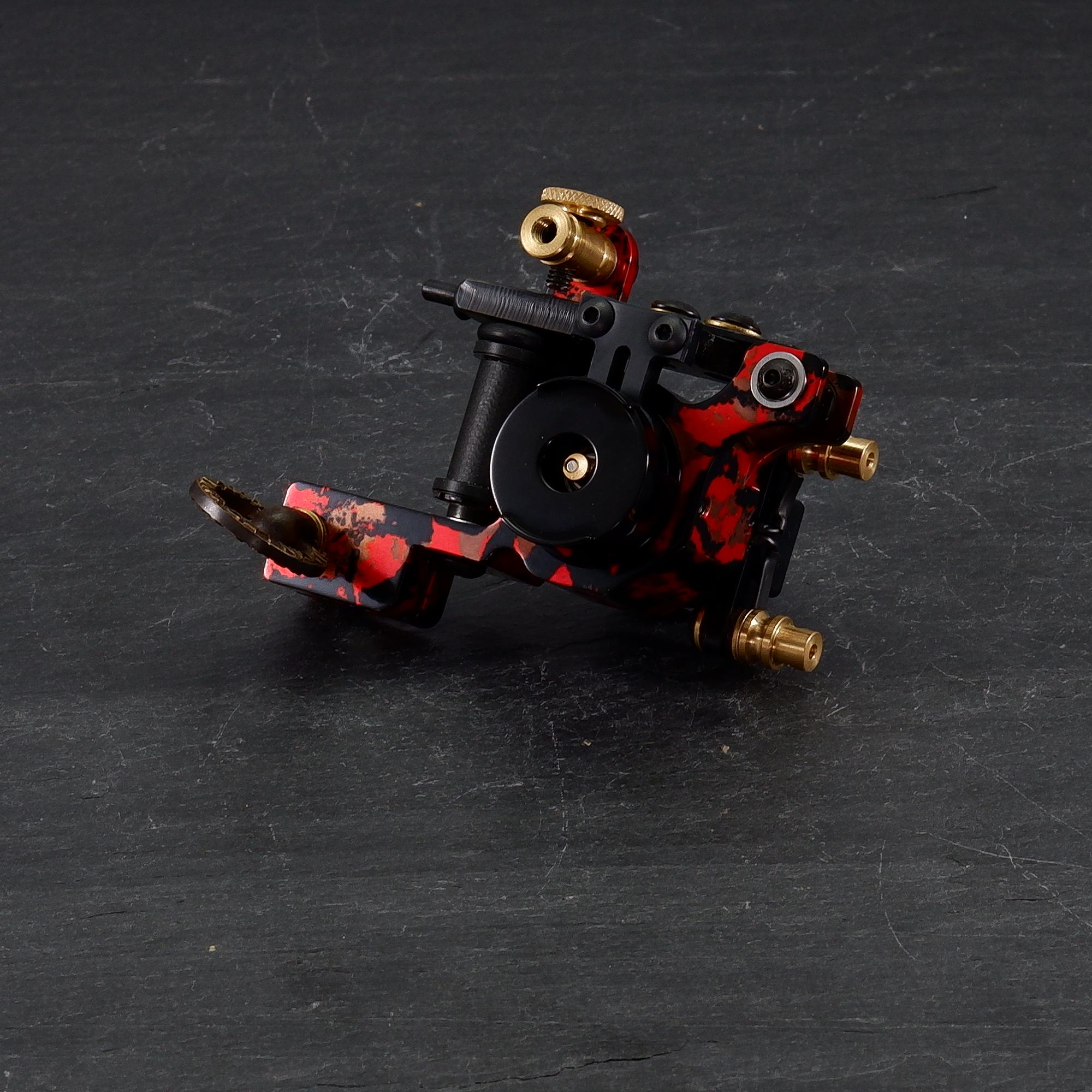 Red Khaki Gorilla Tattoo Machine