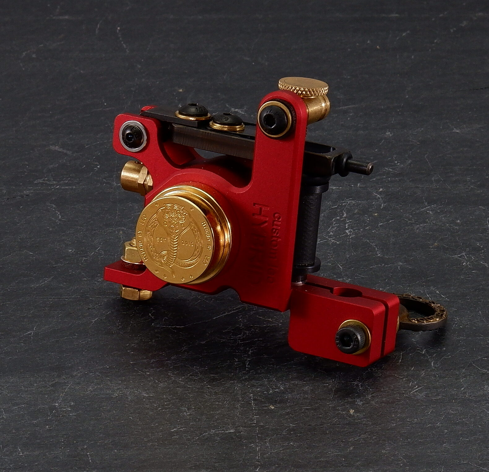 Red/Gold Hybrid Tattoo Machine