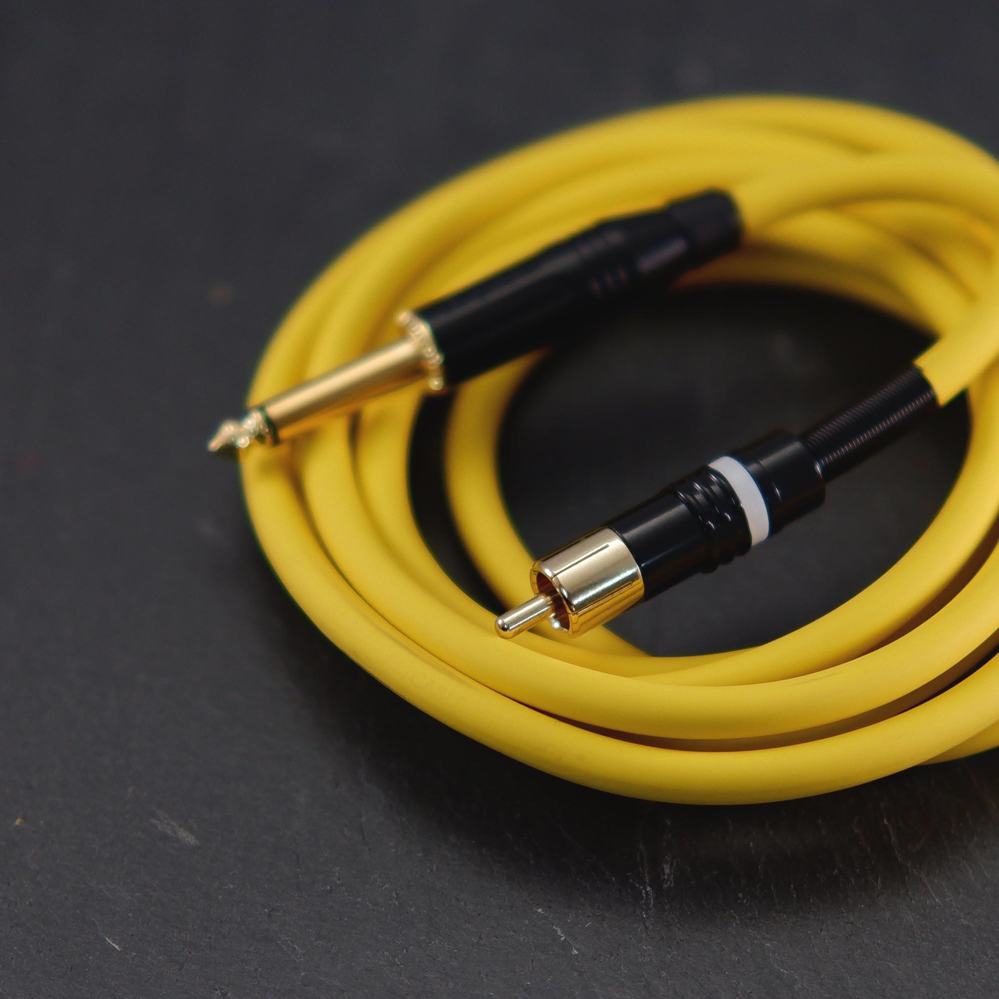 Premium Yellow Heavy Duty RCA Cable